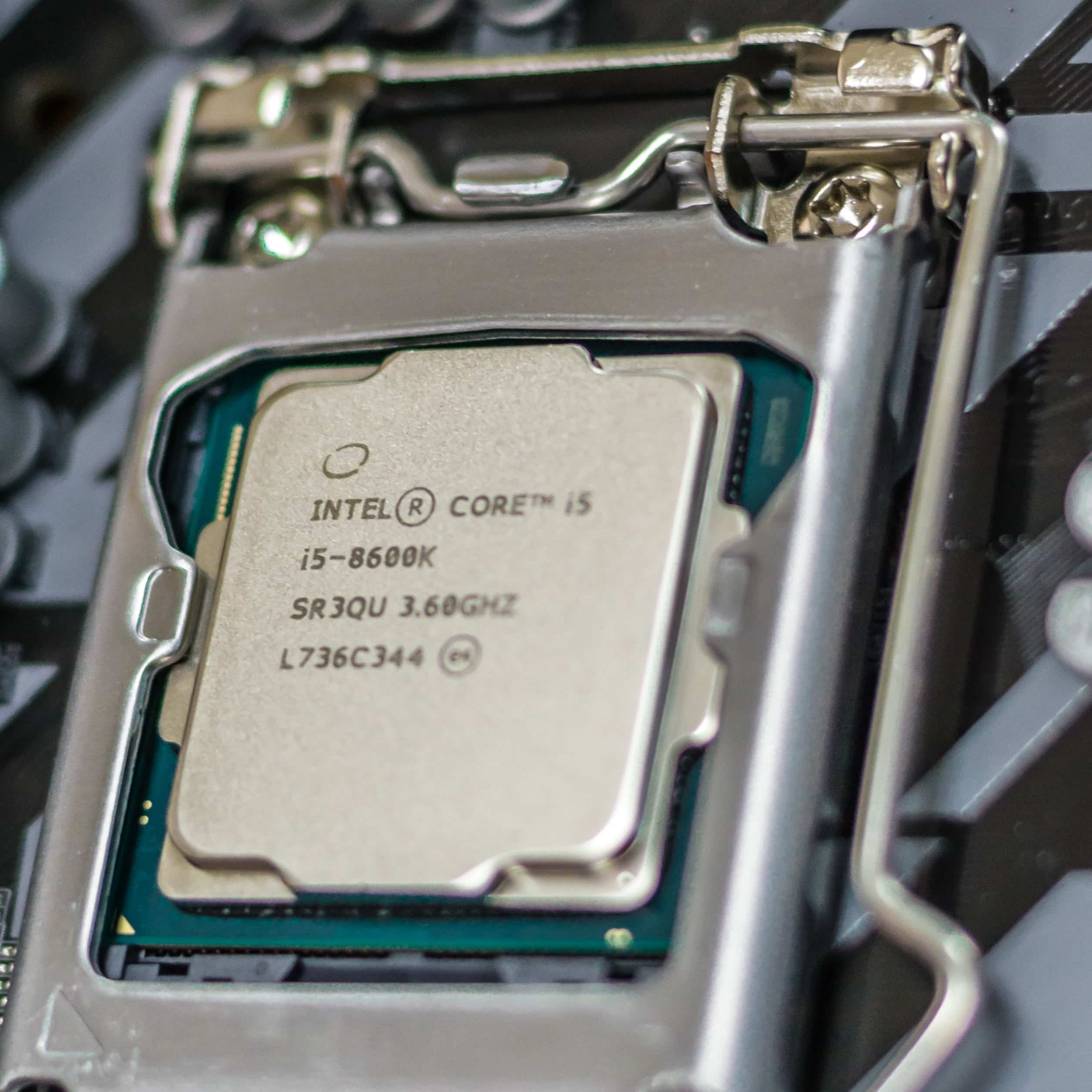 i5 8600k processor